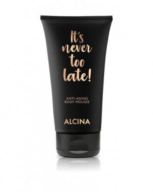 It´s never too late Anti-Aging Body Mousse Alcina Schnittwerk Ginsheim