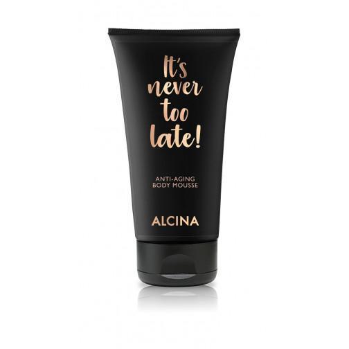 It´s never too late Anti-Aging Body Mousse Alcina Schnittwerk Ginsheim