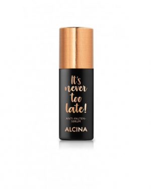 It´s never too late Anti-Aging serum Alcina Schnittwerk Ginsheim