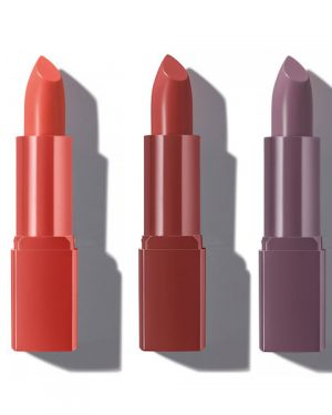Pure Lip Colour mauve 01 cashmere rose 03 poppy red 04 Alcina Schnittwerk Ginsheim